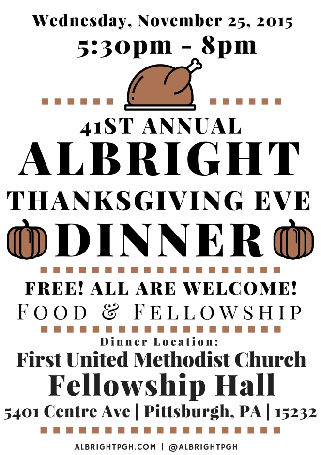 Thanksgiving Albright 2015-Flyer