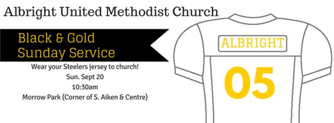 Steelers Church Service