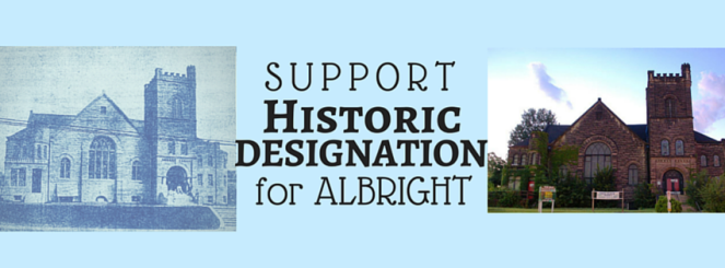 Albright-support-FB-banner