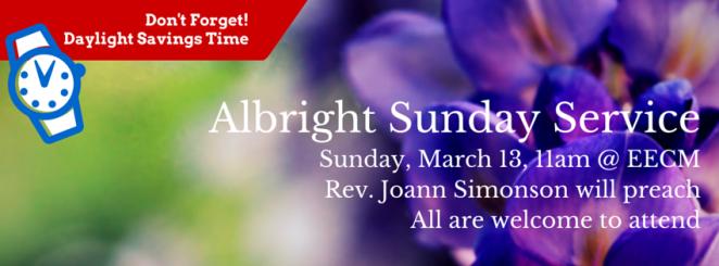 Albright Sunday Service (1)