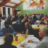 Over 200 people joined us for a home cooked meal.